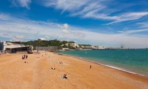 Dover Beach, Dover, Kent, UK.