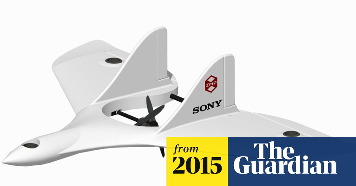 891e3ecec56 Sony's next big thing is camera drones   Technology   The Guardian