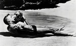 Burt Lancaster and Deborah Kerr in From Here to Eternity.