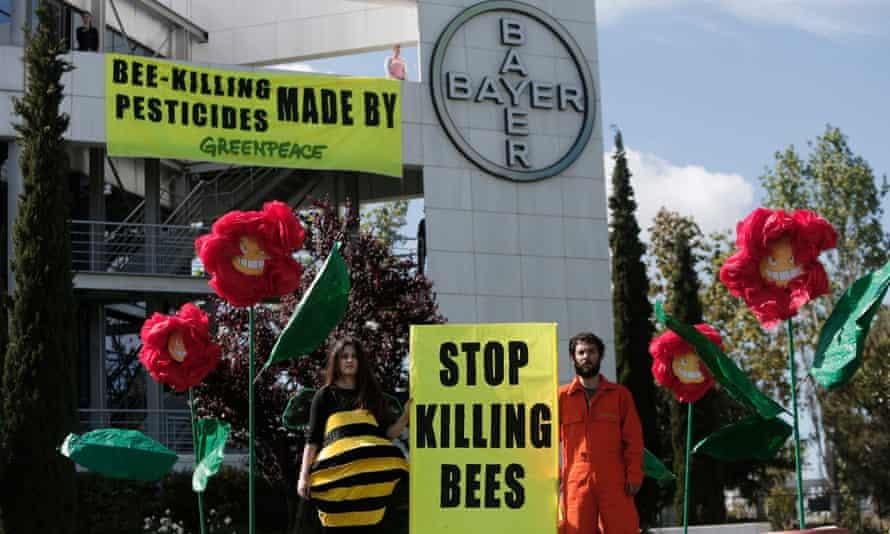 Pesticides protest