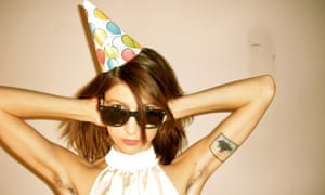 Party girl: Colleen Green.