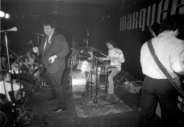 Pere Ubu at the Marquee, London in 1979