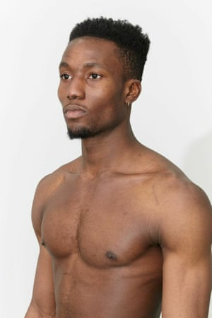 Male model at Lorde agency.