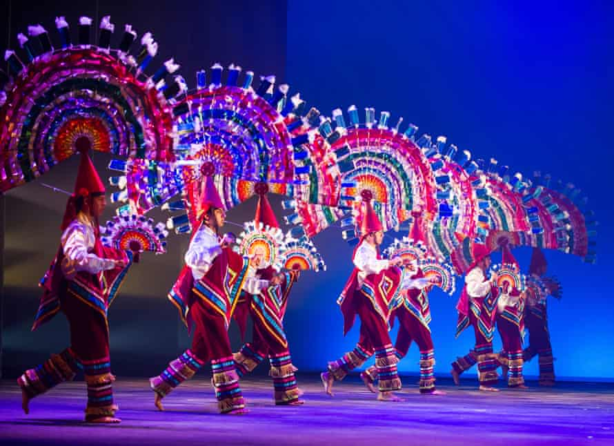 Great aplomb … a scene from Dance of the Quetzales.