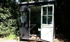 George Bernard Shaw's sun-following revolving shed, in which he liked to write.