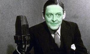 How TS Eliot might have appeared in his writing make-up. Photograph: Rex/Digital retouching: the Guardian