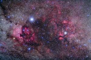 Nebulosity in Cygnus