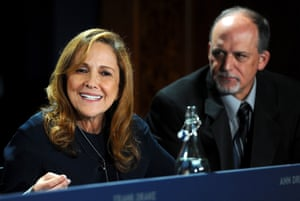 Ann Druyan with Geoff Marcy in London last week for the the Breakthrough Initiatives press conference.