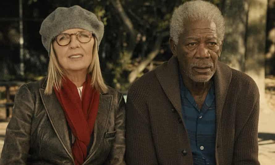 Good company: Diane Keaton and Morgan Freeman in Ruth and Alex.