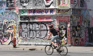 Street art scene, Montreal.