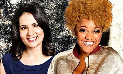 Light touch: Radio 1's The Surgery with Dr Radha Modgil, left, and Gemma Cairney.
