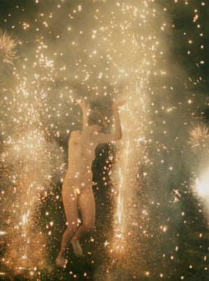 Hysteric Fireworks (2007) by Ryan McGinley. Courtesy Ryan McGinley / Team Gallery NYC