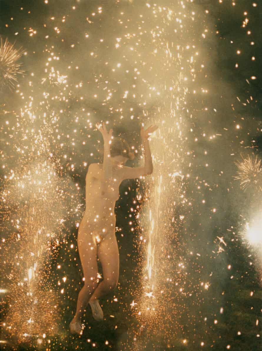 Hysteric Fireworks (2007) by Ryan McGinley. Courtesy Ryan McGinley / Team Gallery NYC