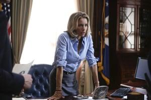 Téa Leoni as Elizabeth McCord in Madam Secretary.