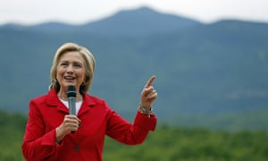 Democratic presidential candidate Hillary Rodham Clinton speaks to supporters this month in New Hampshire.