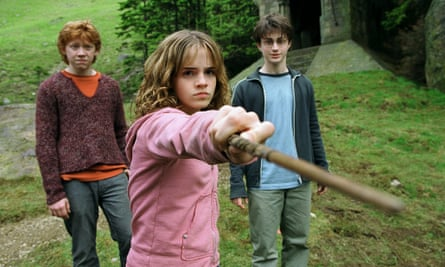Emma Watson as Hermione Granger in the film adaptation of Harry Potter and the Prisoner of Azkaban (2004). Photograph: Allstar/Warner Bros