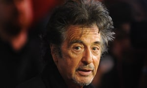 Al Pacino, whose new film, Manglehorn, comes out in the UK in August.