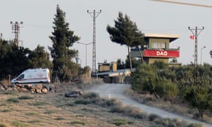 Kilis on the Turkey-Syria border.