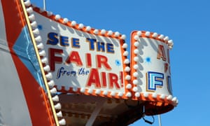 Sign on the Helter-Skelter on Clacton pier.