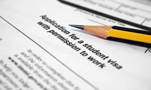 student visa form
