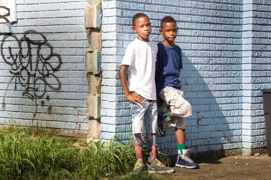 Twin brothers Donovan and Devon, were born in the Lower Ninth Ward just days after Hurricane Katrina.