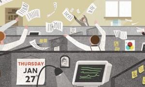 Oliver Burkeman shorter working week illustration