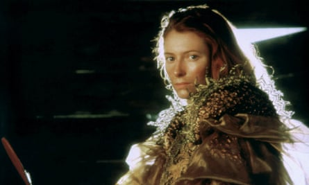 Tilda Swinton in Caravaggio.