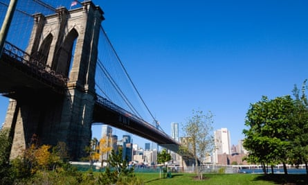 Brooklyn Bridge Park, New York.