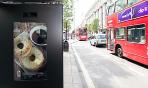 M&C Saatchi's artificial intelligence ad on Oxford Street