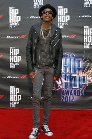 Wiz Khalifa in Converse All Stars