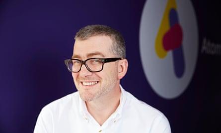 Mark Mullen, CEO of Atom Bank.