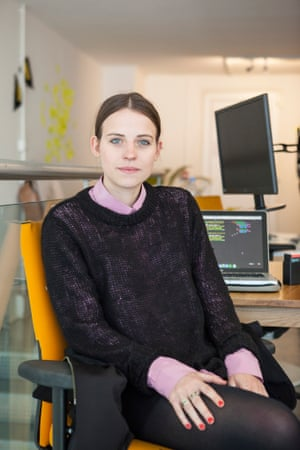 Web developer Naomi Gaynor