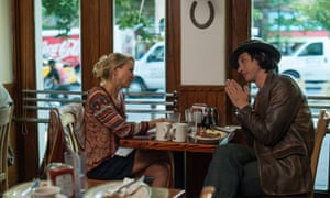 Naomi Watts and Adam Driver in While We're Young.