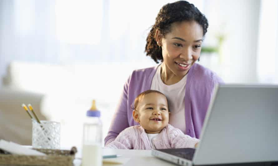 Living the dream? For more and more women, getting back to work after having a child is becoming increasingly difficult.