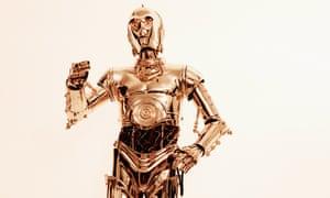 C-3PO, from Love magazine.