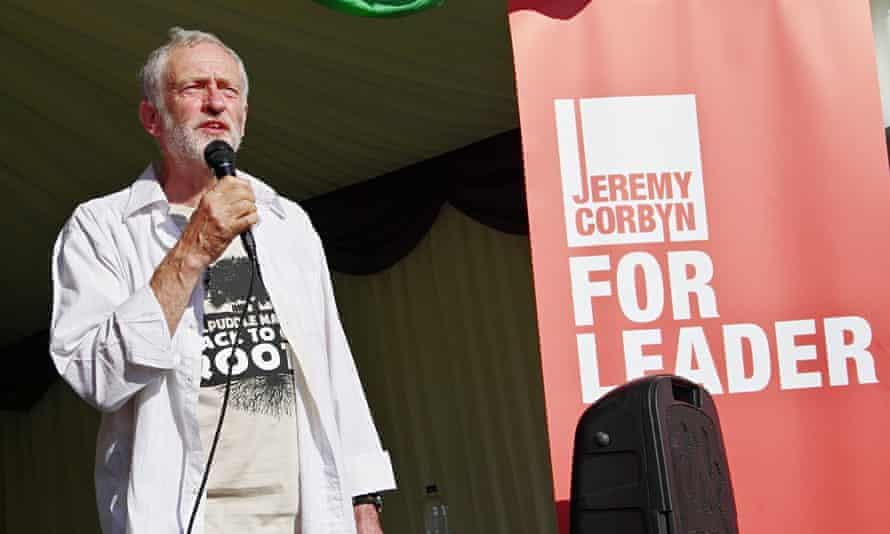 Labour leader Jeremy Corbyn s