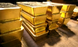 Gold prices are now around $1,000 an ounce.