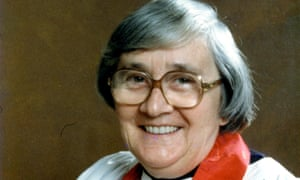 Joyce Bennett, the first English woman to be ordained as a priest in the Anglican communion.