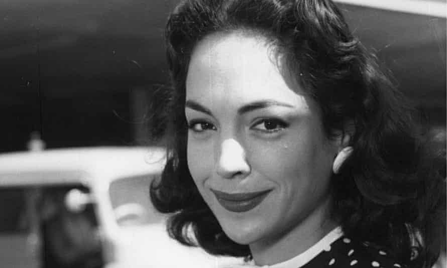Natasha Parry in 1955.