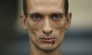 Artist Petr Pavlensky