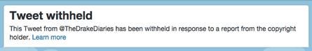 Tweet withheld