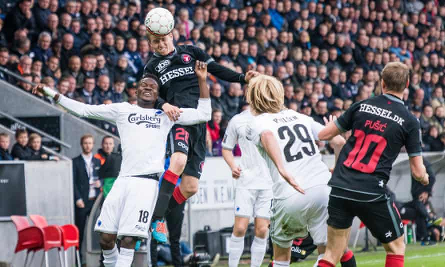 Almost half of FC Midtjylland's goals last season came from set pieces, with their assistant manager Brian Priske running a 'set-piece lounge' at the club