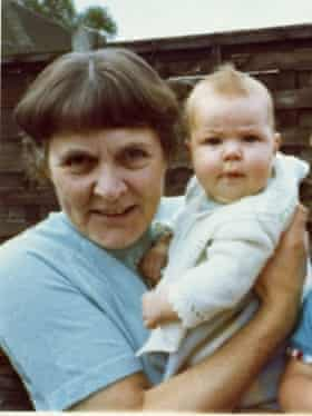 Alice with her granddaughter Clare
