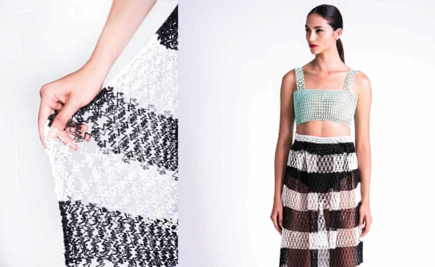 <strong>Texture</strong> Danit Peleg's 3D printed fashion