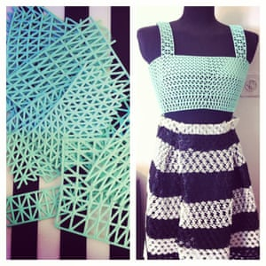 Danit Peleg 3D printed fashion