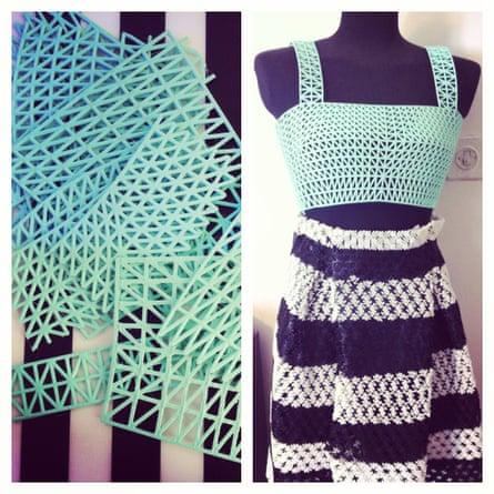 Danit Peleg 3D printed fashion