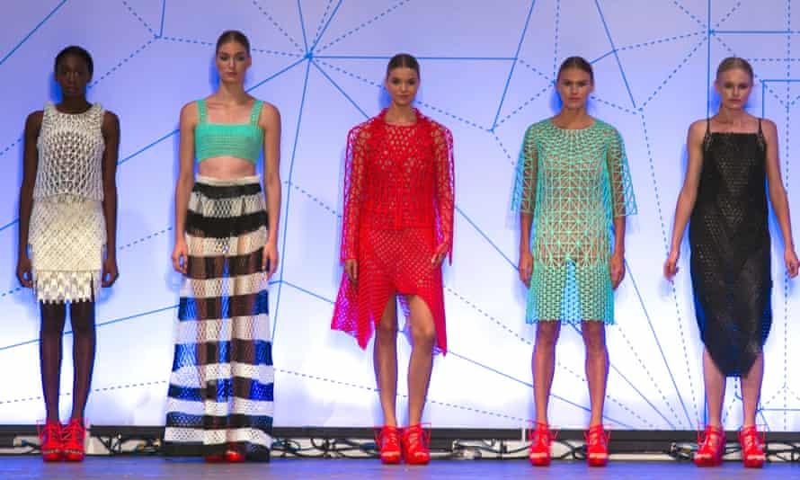 3D printed fashion by Danit Peleg