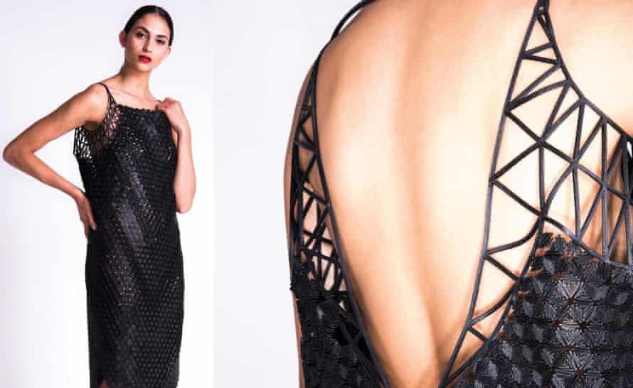 LBD? Danit Peleg's 3D printed dress