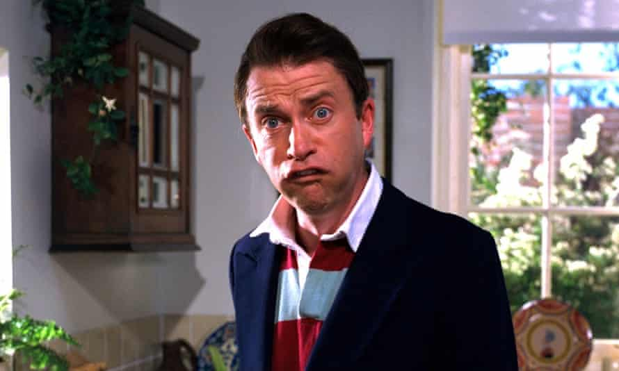 On the money … Harry Enfield as Tim Nice But Dim.