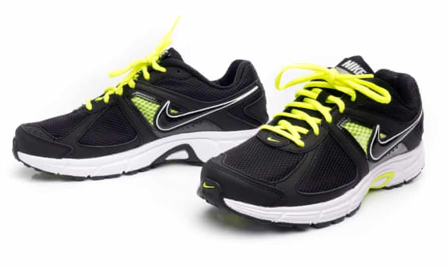 A pair of Nike trainers